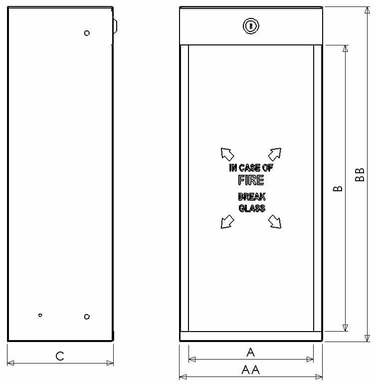 FEC 05 - Dimensions