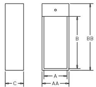 FEC 10 - Dimensions