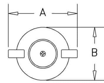 HF-45EB - Dimensions