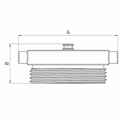 HF41B CAST 3.0 - Dimensions