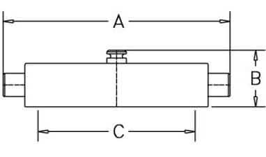 HF42CP 1.5 - Dimensions