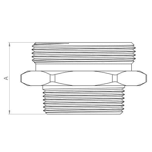 HF55-3025-IT20 - Dimensions