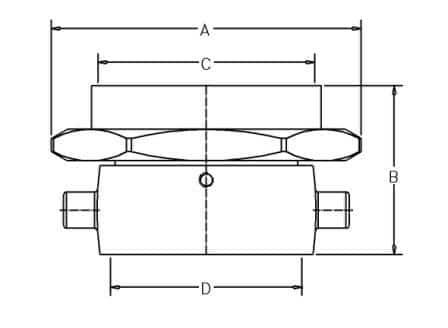 HF58-3 BR - Dimensions