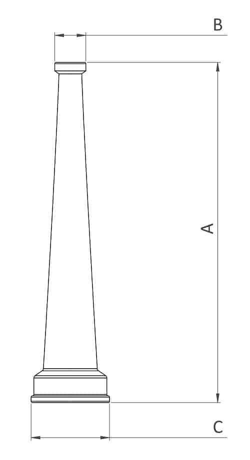 HN150B - Dimensions