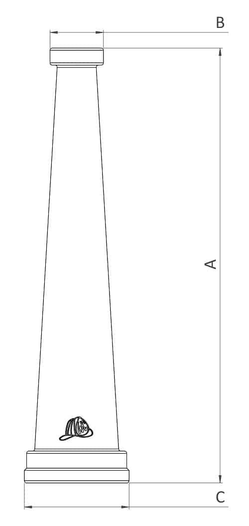 HN250D - Dimensions