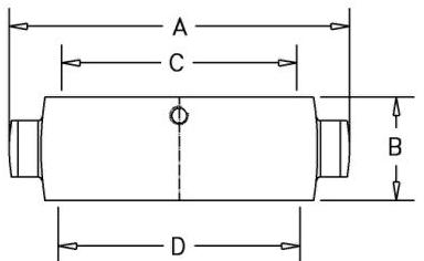 HF40-3 CP - Dimensions